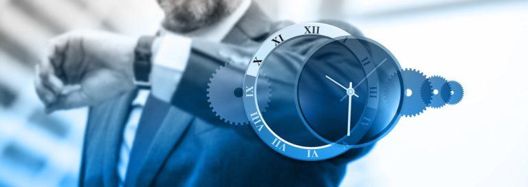 Business man - čas